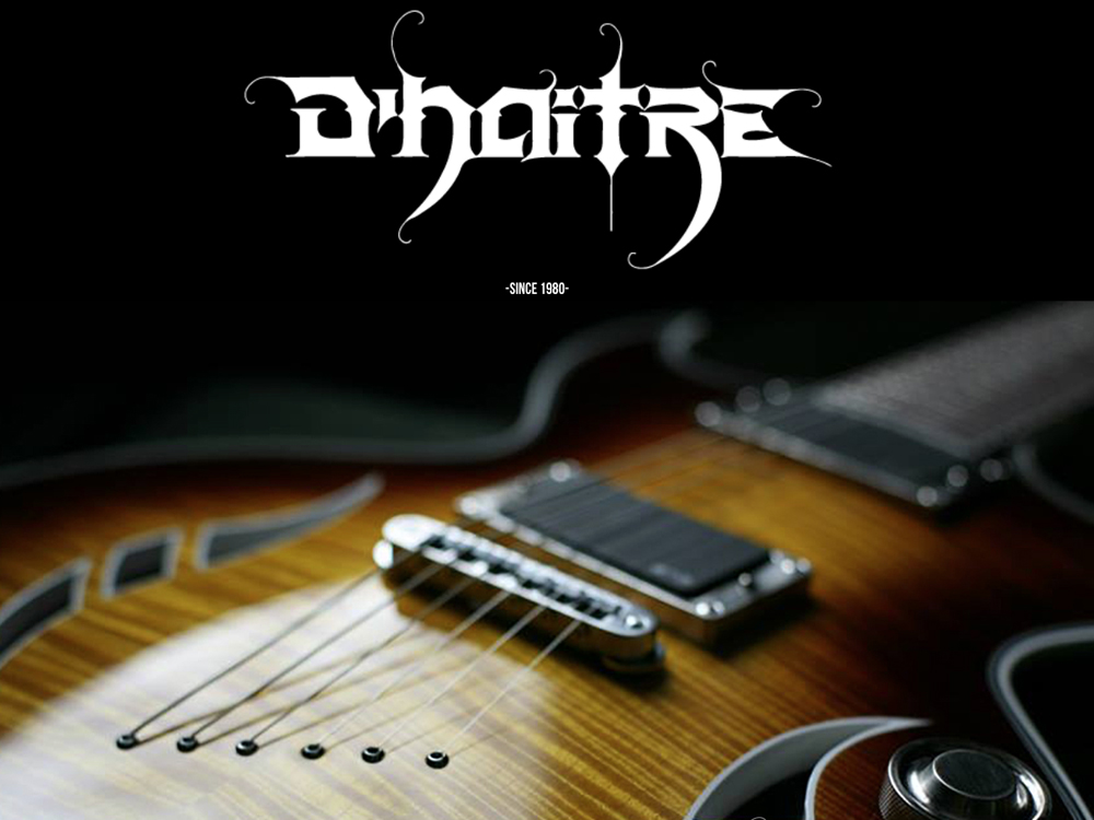 D'Haitre woodworks and guitars website